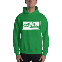 Train Hard And Takeover Gym Workout Hoodie Enclosed Version 1