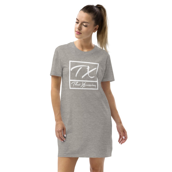 Colorful fashionable Sporty T-Shirt Dress Perfect for lounging or out on the town