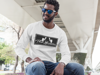 Unisex Train Hard And Takeover Long Sleeve Black Logo T-Shirt by ThatXpression