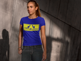 ThatXpression Yellow/Blue Enclosed Tee - ThatXpression