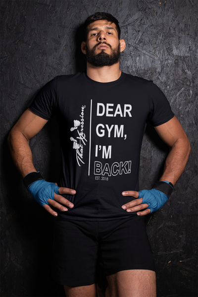Fashion urban trendy comfortable gym fitness themed unisex t-shirts