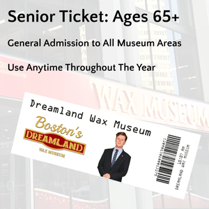 Senior Ticket: Ages 65+