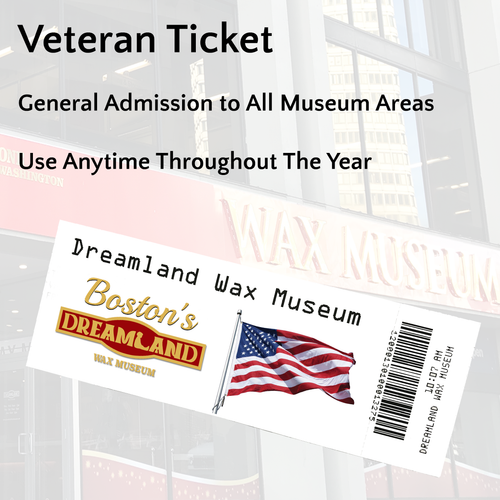 Veteran's Ticket with Military ID