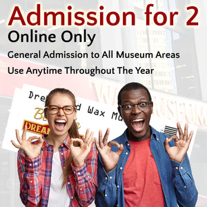 SAVE on Admission for 2 - Online Only