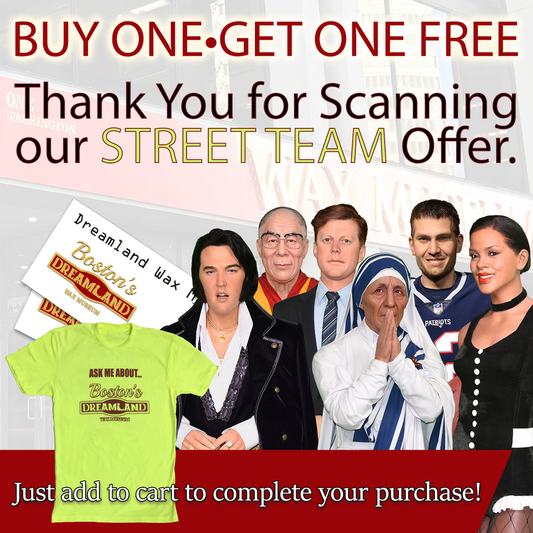 Street Team - Buy One Get One Free