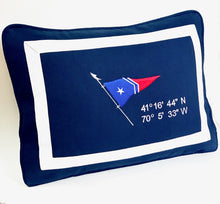 GHYC Burgee Pillow