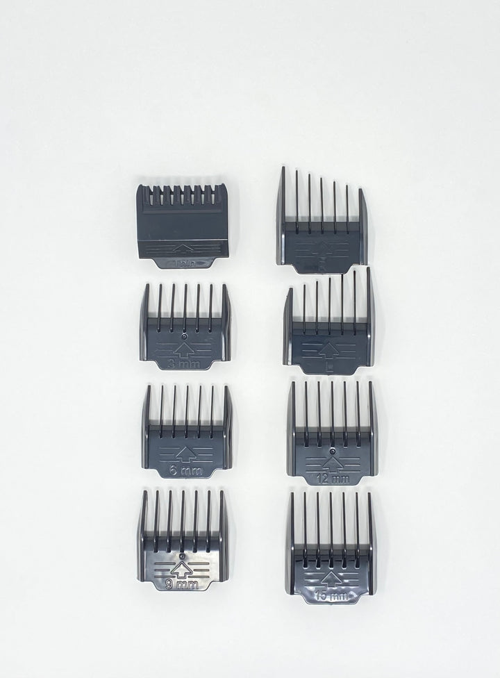 .380 ACP Cordless Clipper  Replacement Plastic Guards, 8 Pcs