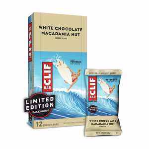Clif Energy Bar - White chocolate and macadamia nut - 12 pack