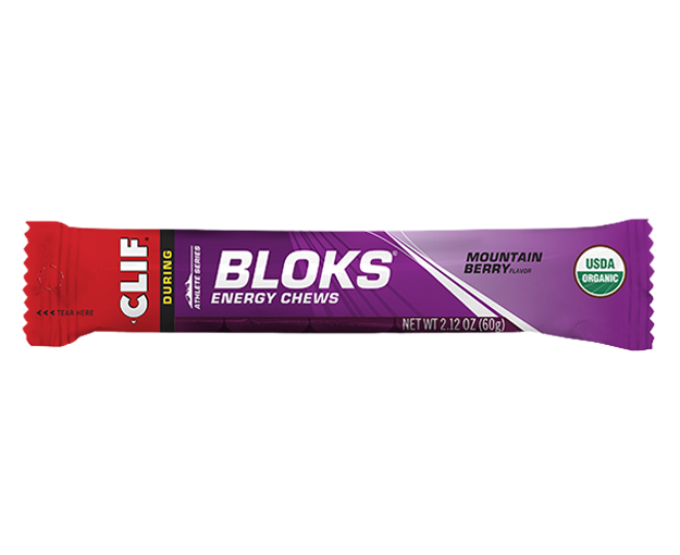 Clif Bloks Energy Chews - Mountain Berry