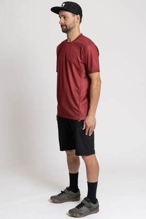 The Staple Jersey Maroon - AirTech
