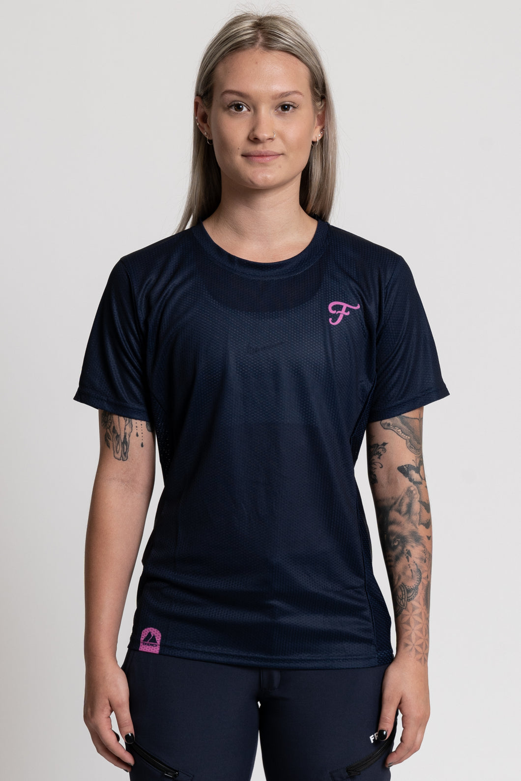 The Lettermark Jersey Navy - AirTech