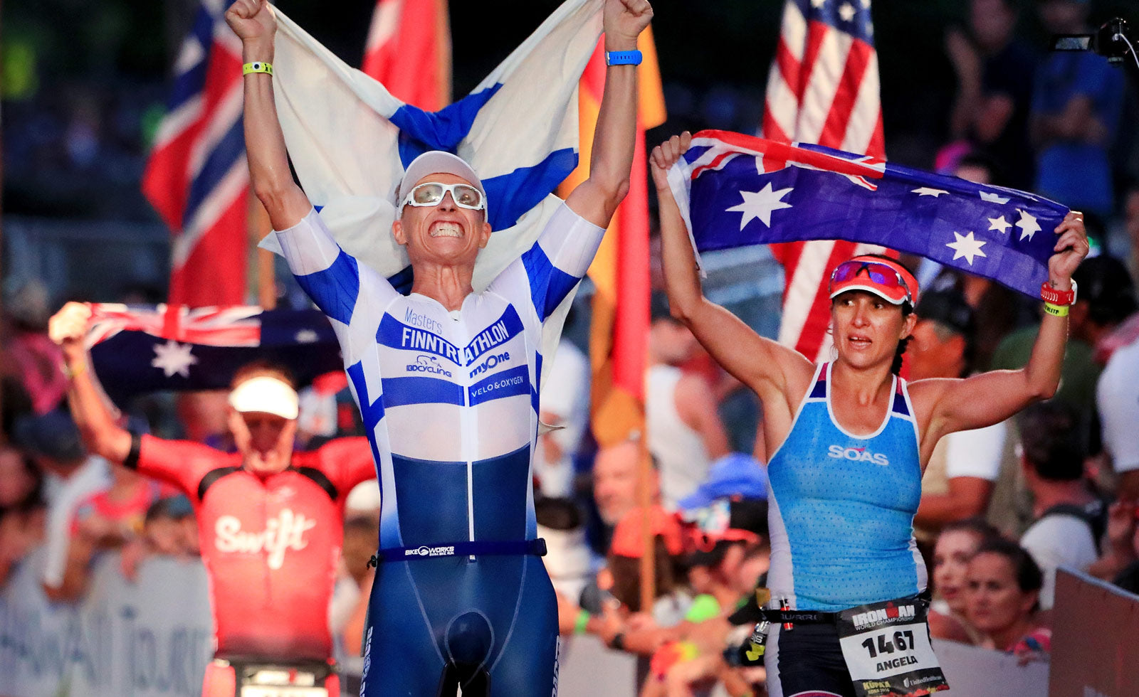 Kona Ironman World Championships Finishers Age Group