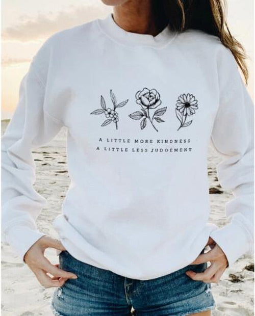 Kindness Floral Long Sleeve