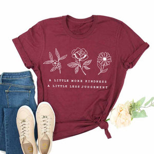 Kindness Floral Tee