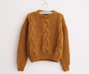 October Knit Roped Sweater