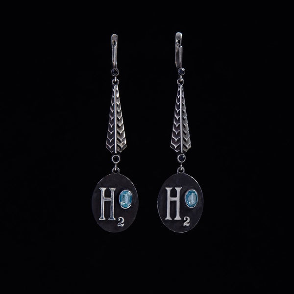 Long Aquarius H20 Earrings