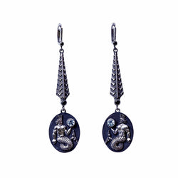 Long Aquarius Earrings