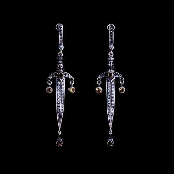 Dagger Earrings