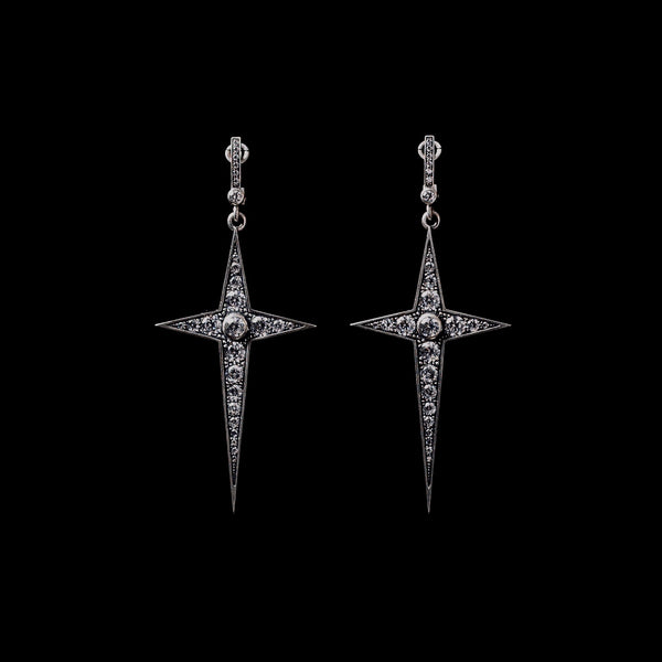 Star Dagger Earrings