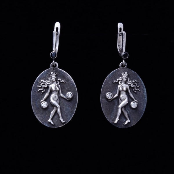 Virgo Earrings