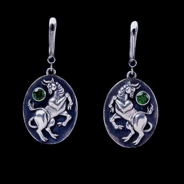Taurus Earrings