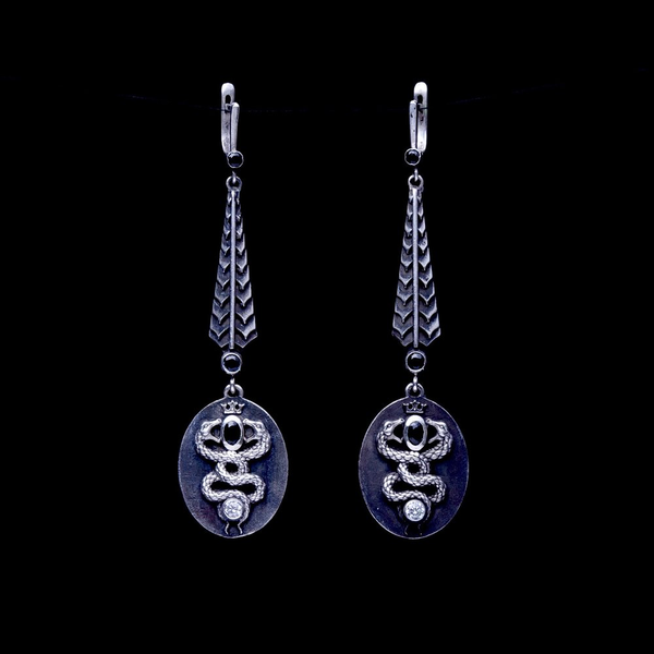 Long Gemini Earrings