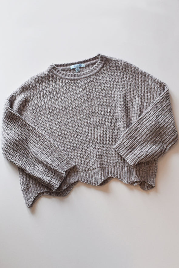 Lead the Way Crop Sweater