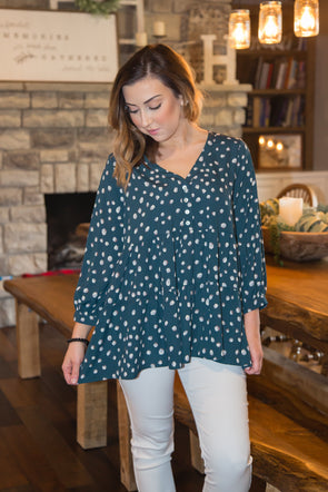 Hand In Hand Button Top
