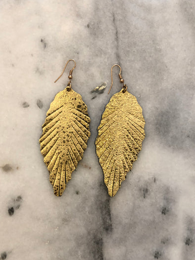 What A Dream Feather Earrings
