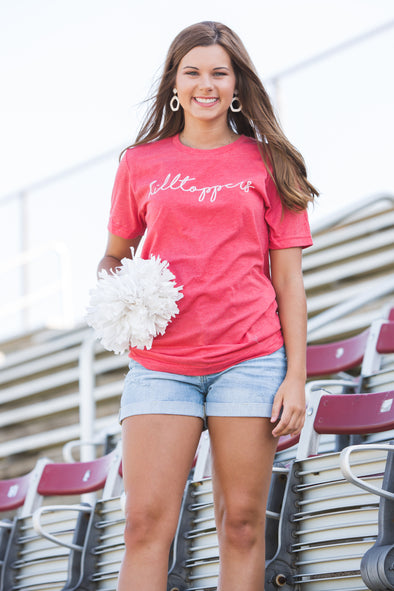 Hilltoppers Script Tee