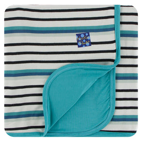 Neptune Stripe Swaddle