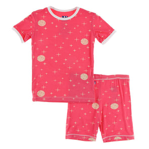 Ginger Full Moon pj short set