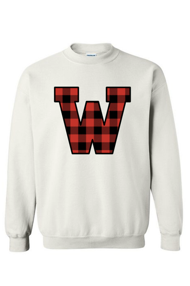 WKU Buffalo Plaid Sweatshirt