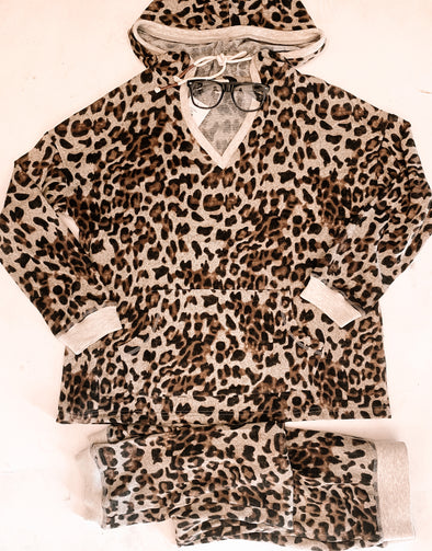 Casual Evening Leopard Long Sleeve