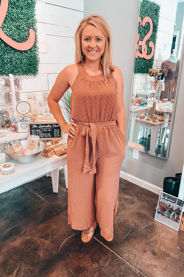 Live It Up Textured Romper