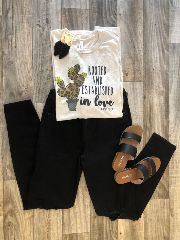 Rooted and Established Tee