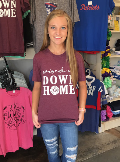 Raised Up Down Home Tee