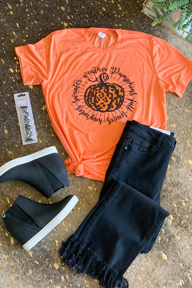 Everything Fall Pumpkin Tee