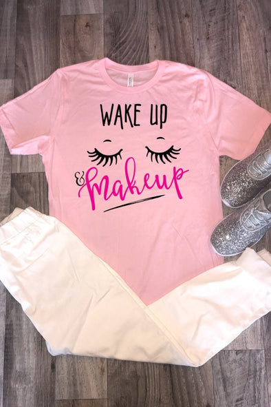 Wake Up Makeup Tee