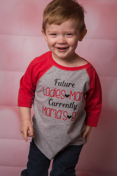 Future Ladies Man Kids Tee