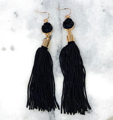 Leave The Night On Earrings