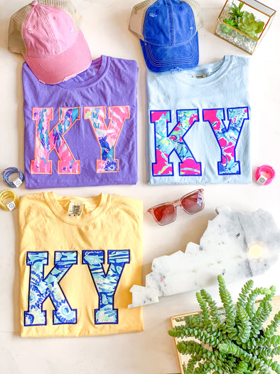 KY Lilly Inspired Tees