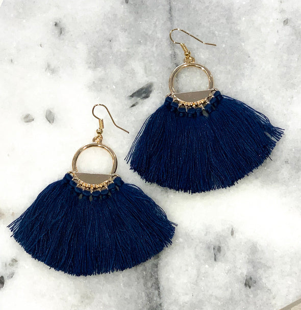 Got Your Love Tassel Earrings