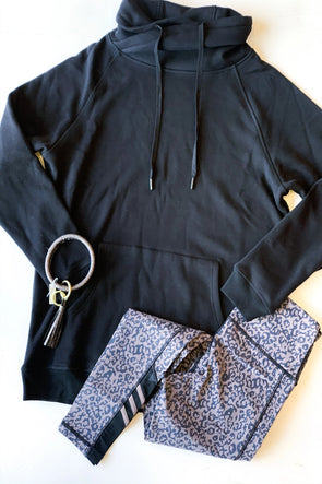 The Black Criss-Cross Pullover