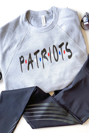 Friends Inspired Patriots Crewneck Sweatshirt