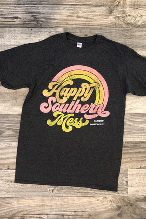 Happy Southern Mess Tee