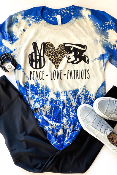 Peace Love Patriots Tee