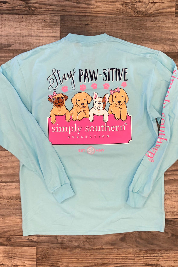 Stay Paws-itive Tee