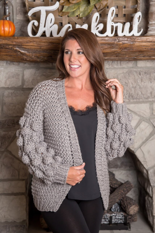 The Ariel Bubbly Cardigan