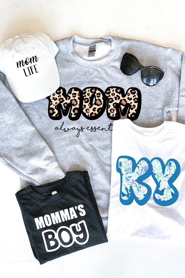 Mom Always Essential Tee